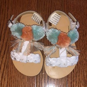 Janie and jack sandals size 4
